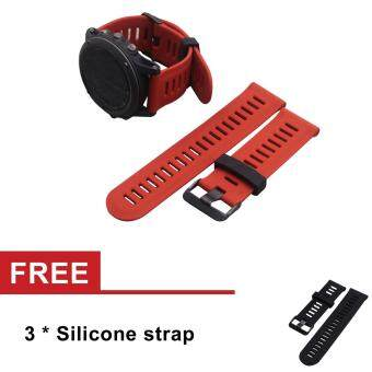 Watch Band Strap for Garmin Fenix3/Fenix3 HR GPS Watch With Tools -intl