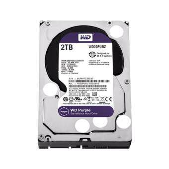 WD HARD DISK INTERNAL 2.0TB WD SATA-III 64 MB (WD20PURZ) PURPLE
