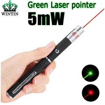 Wintin High Quality Red/Green Laser Pointer 5mW Powerful 500M LaserPen Professional Lazer pointer For Teaching Outdoor Playing - intl