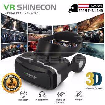Xtreme Virtual Reality Gaming Headset VR Glasses VR Box VR Helmet With Hifi Headphone And Touch Button For Screen Input
