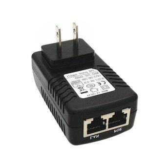 YBC US Plug Security POE Power Supply Adapter 24V 1A InjectorEthernet Adapter For IP Camera - intl