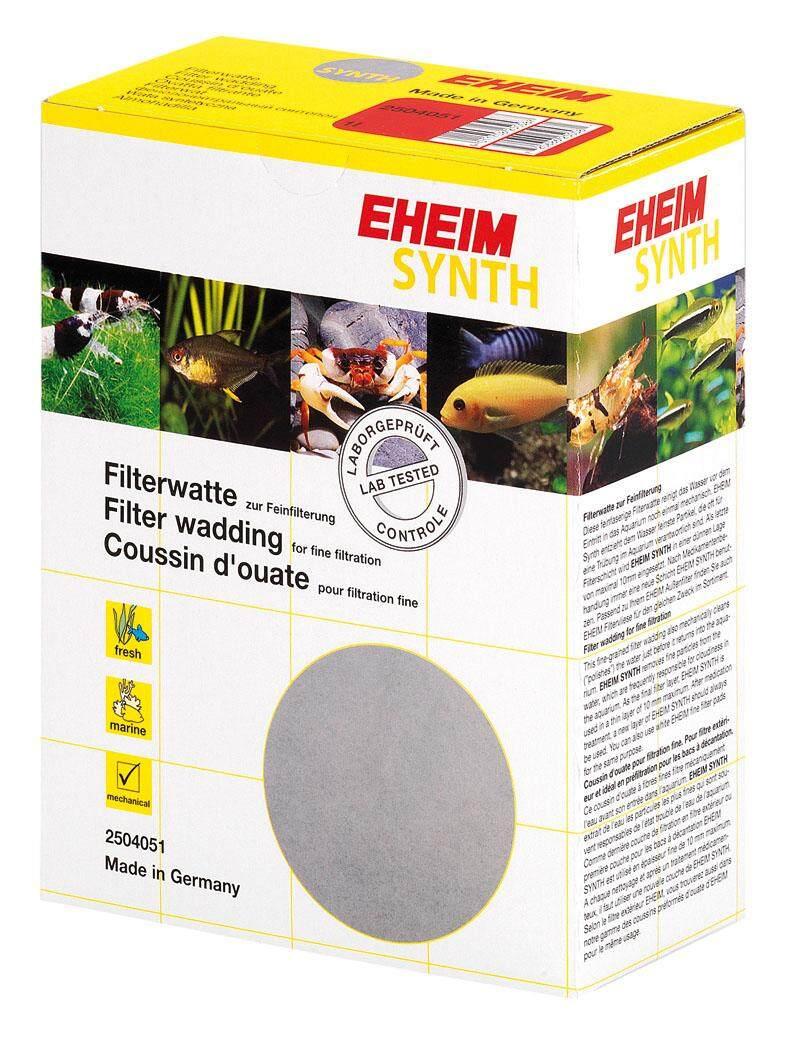 2 ลิตร - EHEIM SYNTH ใยกรองละเอียด (ใยแก้ว) กรองสิ่งสกปรกขนาดเล็กจิ๋ว แก้ปัญหาน้ำขุ่น (1ลิตร 2ลิตร)