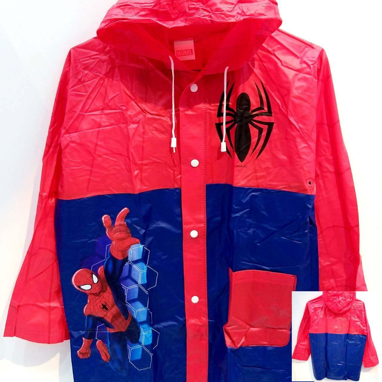 ชุดกันฝน เสื้อกันฝน ชุดกันฝนเด็กเด็กเด็กชายและเด็กหญิงชุดกันฝนสำหรับขี่มอร์เตอร์ไซด์ กันน้ำ พร้อมฮู้ดเป่าลม แขนยาว มีช่องใส่กระเป๋าเป้ด้านหลัง
