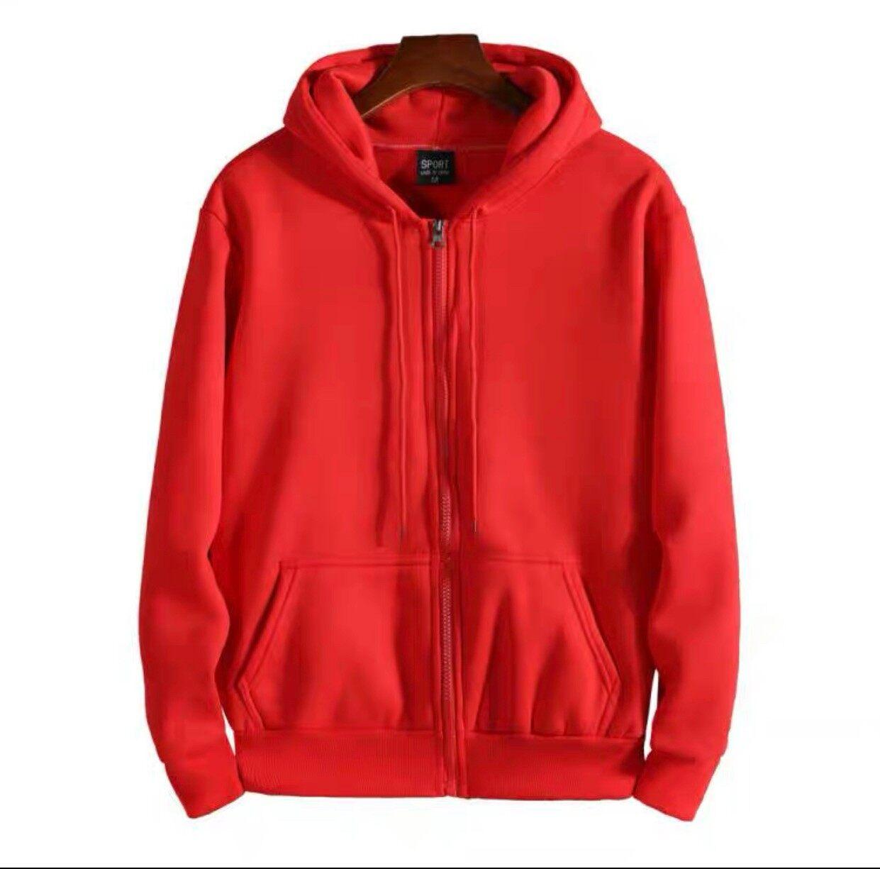 ? สินค้ามาใหม่ เสื้อแจ็คเก็ตมีฮู้ด ผ้าสำลีกันหนาวได้ งานสวยตัดเย็บเนี๊ยบๆ (จ่ายเงินปลายทางได้)
