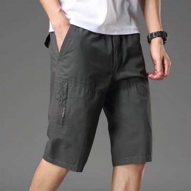 """กางเกงขาสั้นชาย (พร้อมส่ง) ผ้าฟอก 28-42รวมสีขายดี Set 1 """"ผ้าดี สีไม่ตก งานห้าง ทรงสวย"""""""