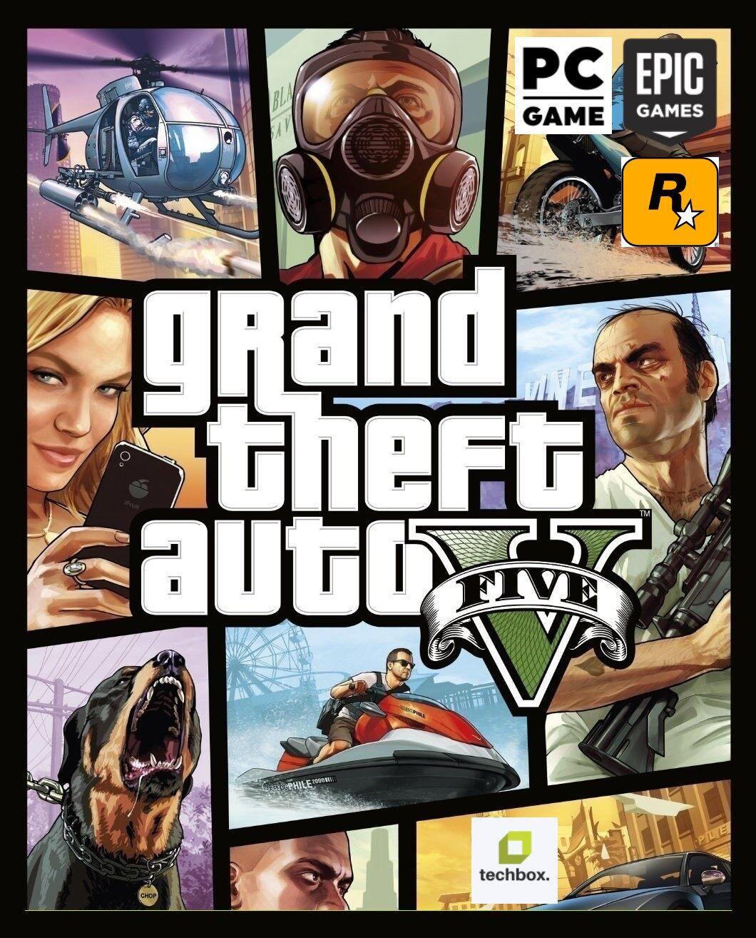 Gta V Premium Edition (gta 5) ลิขสิทธิ์แท้ เล่น Fime M ได้ - Gta V Steam, Epicgames, Rockstar Key - Gta V แท้ ราคาถูก - Gta V Pc - Gta V ไฟm ได้ - รหัส Gta V - คีย์ Gta V.