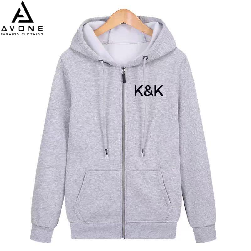 K.a Shop ใหญ่,หนา,ผ้าดี เสื้อฮู้ดแฟชั่น สำหรับหญิงชาย สินค้ามาใหม่สำหรับฤดูหนาว 0027-Kk.