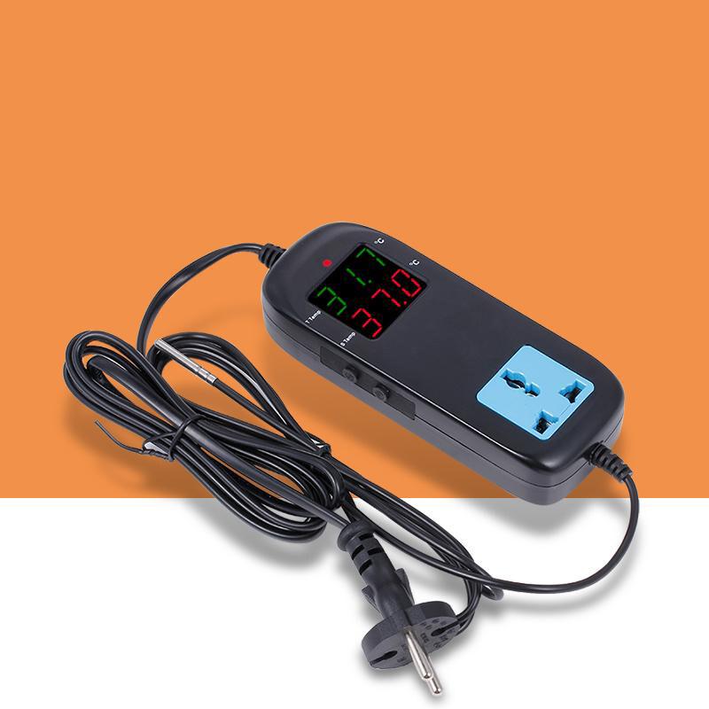 ปลั๊กควบคุมอุณหภูมิ 220Vac ดิจิตอล