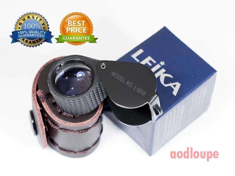 กล้องส่องพระ Leika10x18mm (mad In German) พร้อมซองหนัง.