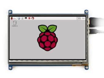 Harga 7 inch Raspberry pi touch screen 800*480 7 inch Capacitive Touch Screen LCD, HDMI interface, supports various systems