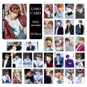 BTS Bangtan Boys YOU NEVER WALK ALONE JUNGKOOK Album LOMO Cards NewFashion Self Made Paper Photo Card HD Photocard LK484 - intl