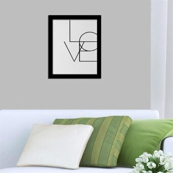Harga Canvas Art Print Poster KARA Letter Painting Wall Pictures Sticker Home Decor - intl