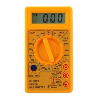 DT-830B LCD Digital Multimeter AC/DC 750/1000V Amp Volt Ohm TesterMeter