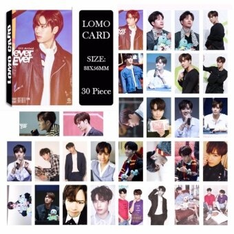 GOT7 Shopping Mall Never Ever JACKSON Album Kpop LOMO Cards NewFashion Self Made Paper Photo Card HD Photocard LK486 - intl