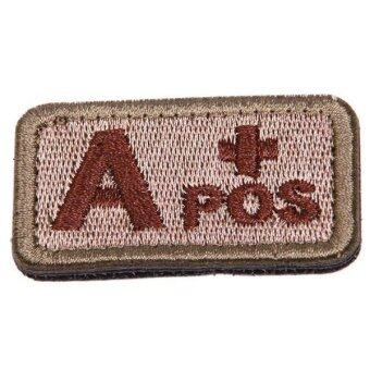 Harga Ai Home Military Tactics Blood Types Embroidered Velcro Hook A Patch