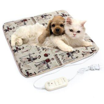 Harga 45CMx45CM Pet Dog Cat Waterproof Electric Heating Pad Warmer Mat Bed Blanket - Intl