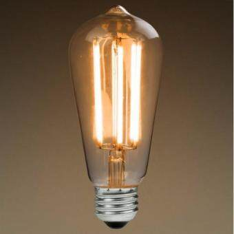 Harga E27 LED Filament Light Bulb Lamp 4W Vintage Retro Edison Style Warm White 2700K (Intl)