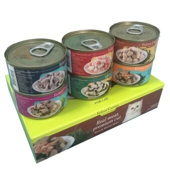 Harga Felina Canino for cat mix 6 cans