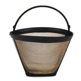 Harga leegoal KOBWA #4 Cone Permanent Coffee Filter,Washable Reusable Coffee Filter - intl