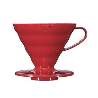 Harga Hario Coffee Dripper V60 02 Red VD-02R - Red