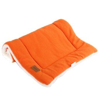 Harga Dog Crate Mat Kennel Cage Pad Bed size M (orange)