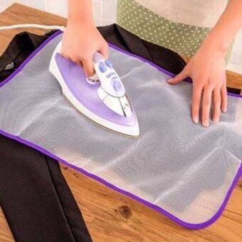 Harga Heat Resistant Ironing Cloth Protective Insulation Pad-hot Home Ironing Mat Mesh White 40*60cm - intl