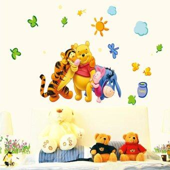 Harga LT365 Winnie The Pooh And Friends Party Removable Peel & Stick Wall Sticker Wall Decals Decoration(50*70CM)