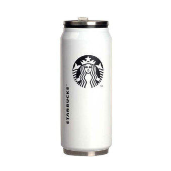 Harga Starbucks Logo Design Tumbler / drinking / beer cans design / stainless steel tumbler (WHITE) - Intl