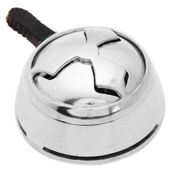 Harga Ai Home Shisha Hookah Bowl Head Charcoal Holder Burner (Silver)