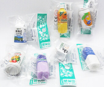 Harga Cute (soft drink, milk) rubbers/erasers collection - intl