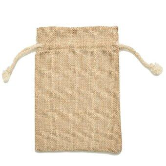 Harga Jetting Buy Mini Tie Bag Burlap Wedding Party Favor 9*12cm 5Pcs