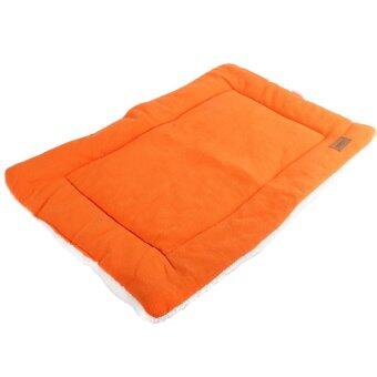 Harga Dog Crate Mat Kennel Cage Pad Bed (orange size L)