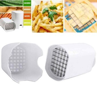Kitchen Tools Fries Potato Chips French Fry Cutter Potato Cutter Slicer Device - intl