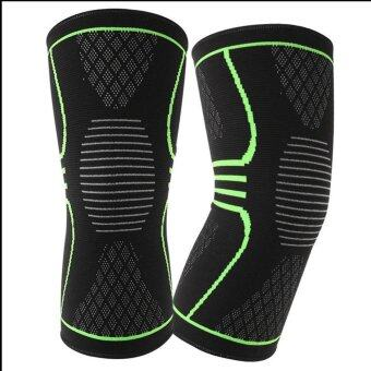KNEE WRAPS WEIGHT LIFTING BODYBUILDING POWERLIFTING ARTHRITISSUPPORT LEG STRAP L - intl