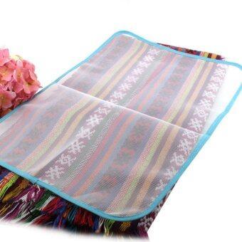 shop online 1pc portable foldable cotton ironing mat silver