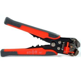 New Terminal Wire Cable Stripper Plier Self-Adjusting AutomaticCrimper Plier - intl