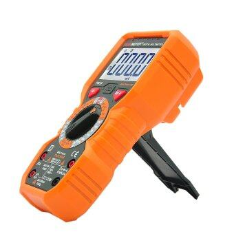 Harga PEAKMETER PM18 True RMS Multifunctional Digital MultimeterMeasuring AC/DC Voltage Current Resistance Capacitance FrequencyhFE NCV Live Line Tester - intl