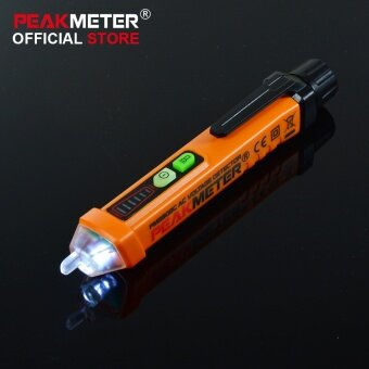Harga PEAKMETER PM8908C Non-contact AC Voltage Detector Tester Meter12V-1000V Pen style Voltage Detector - intl