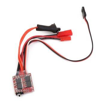 RC ESC 20A Brush Motor Speed Controller w/ Brake for RC Car BoatTank