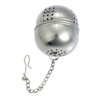 Stainless Steel Tea Strainer Infuser Filter Loose Herb Leaf Steeper Diffuser - intl