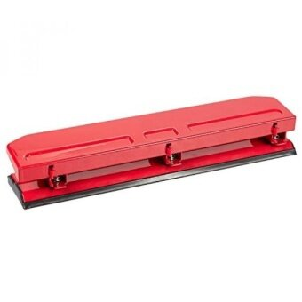 Harga Three Hole Punch - 3 Hole Punches - Three Ring Hole Punch, Red, 10.5 x 1.6 x 2.1 Inches