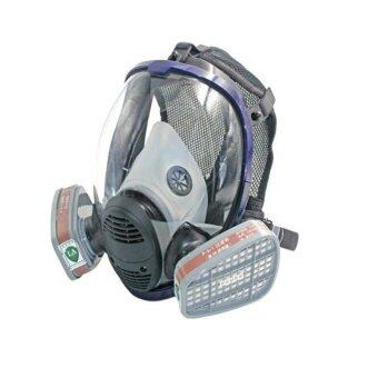 TOMSOO 1pc 7 in 1 Facepiece Respirator Painting Spraying For 3M 6800 Full Face Gas Mask