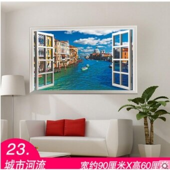 Wall stickers wall wallpaper posters 3D(Width 90CM * high about60CM) - intl