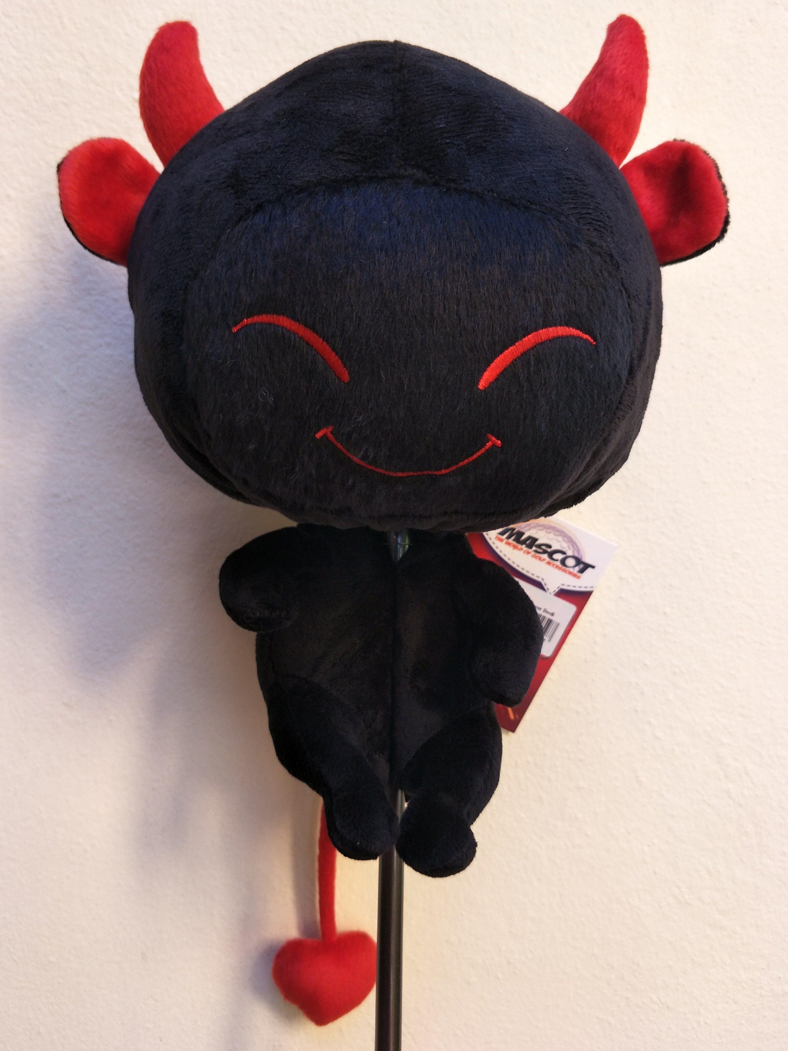 Wood Cover Devil CLC (Size L) สำหรับหัวไม้ 1(Driver) ที่ครอบหัวไม้กอล์ฟ(ตัวใหญ่) สีแดง สีดำ สีชมพู