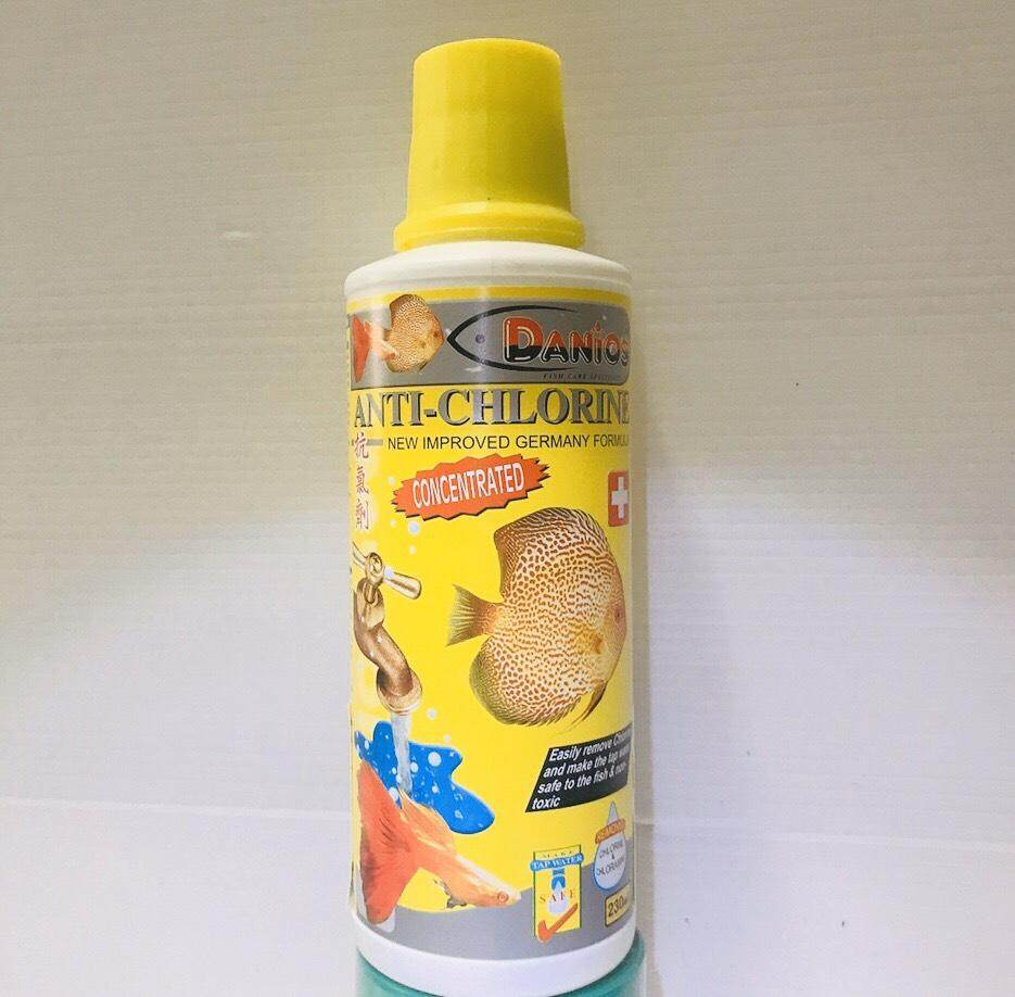 Anti-Chlorine แอนตี้คลอรีน กำจัดคลอรีนในน้ำ 230ml