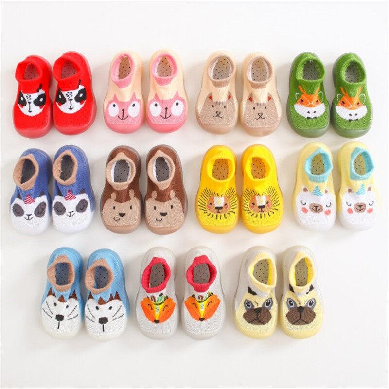 Little lucky baby รองเท้าเด็ก รองเท้าหัดเดิน รองเท้าพื้นยางกันลื่นA42