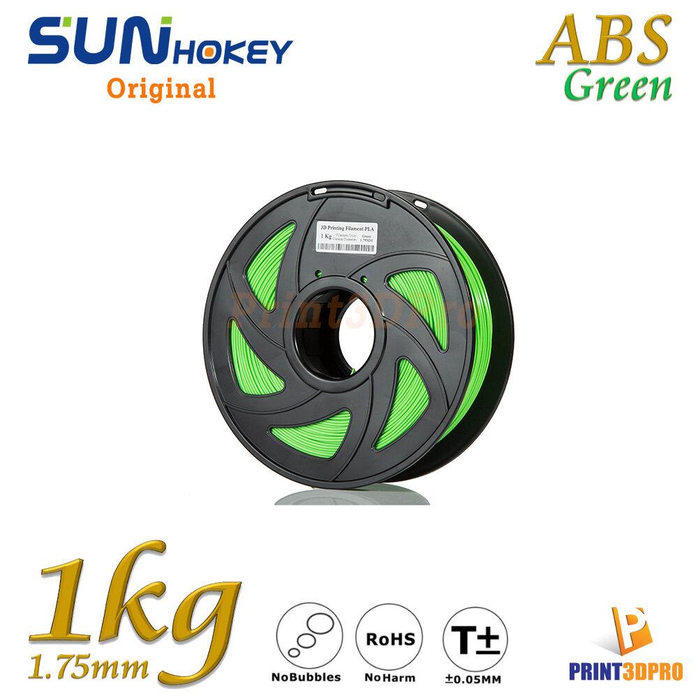 Sunhokey Filament ABS 1kg 1.75mm High Purity , High Precision , High Quality , High Toughness
