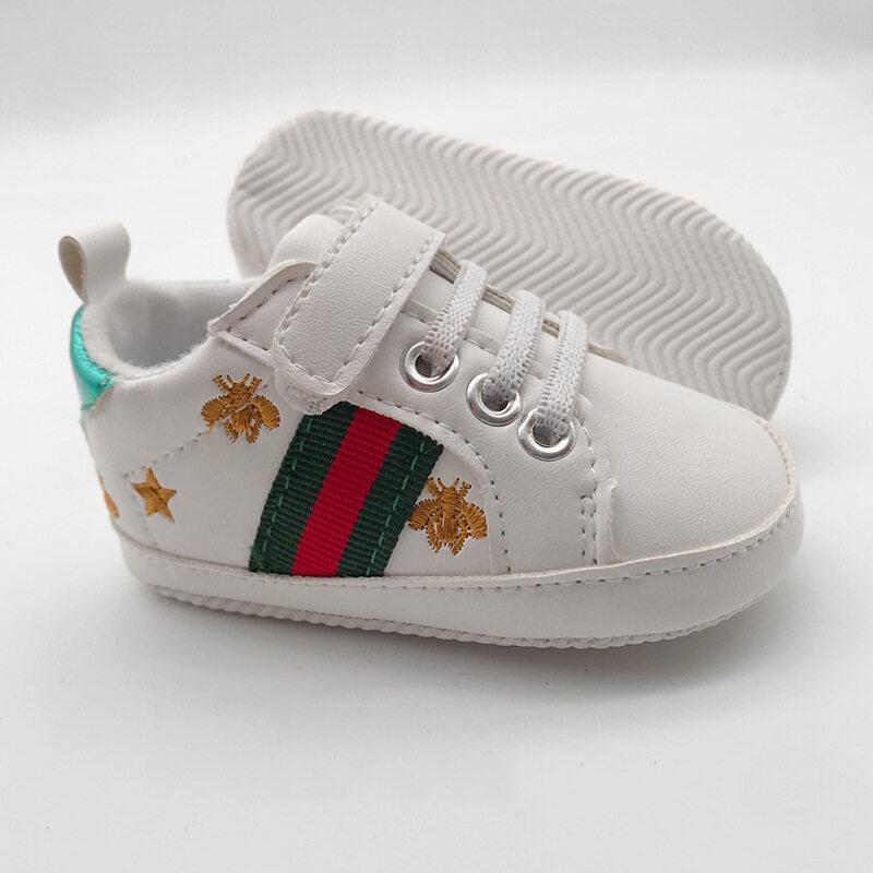 รองเท้าผ้าใบเด็ก รองเท้าสนิกเกอร์ รองเท้าหัดเดิน รองเท้าเด็กสีขาว รองเท้าผ้าใบเด็กราคาถูก