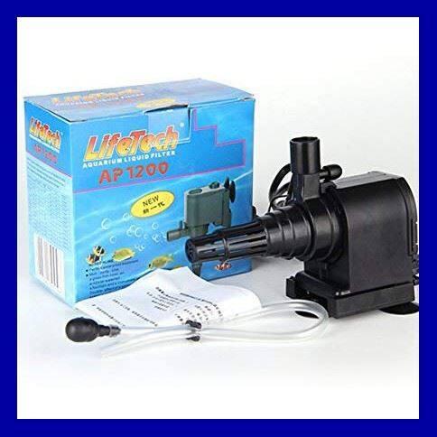 ร้านแนะนำ>>Lifetech Ap-1200 ปั๊มน้ำตู้ปลา ( กำลังน้ำ 600L/Hr ) << มีเก็บเงินปลายทาง