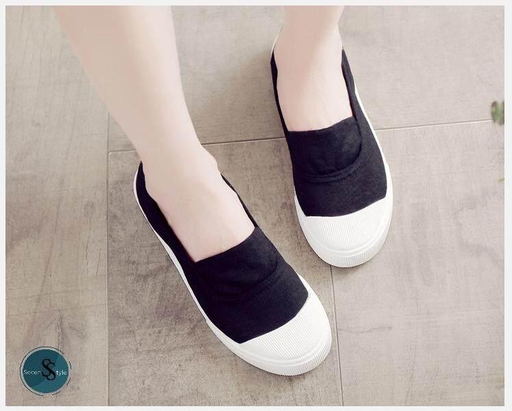 Slip-On Shoes - รองเท้าสวม สลีปออน ไม่กัดเท้า +มีเก็บเงินปลายทาง+ **พร้อมส่งในไทย** (รุ่น SS-144)